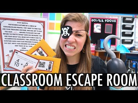 Classroom Escape Room  Pocketful of Primary Teacher Vlog