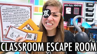 Classroom Escape Room | Pocketful of Primary Teacher Vlog