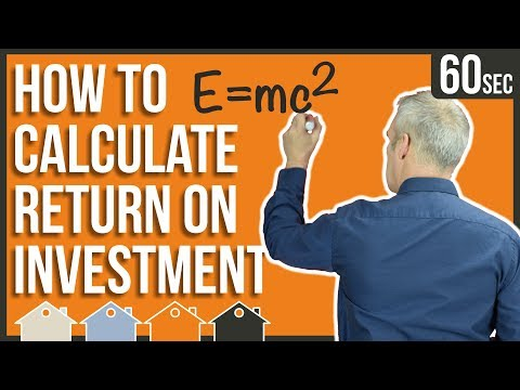 How To Calculate Return On Investment Calculation (ROI) | Return On Capital Employed (finance) Yield