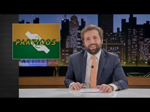 GREG NEWS com Gregório Duvivier | Partidos