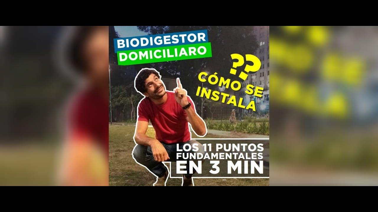 Instala un Biodigestor Domiciliario en 3 minutos!