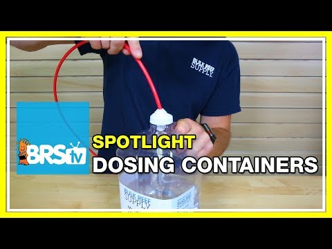 Spotlight on DIY Dosing Containers | BRStv