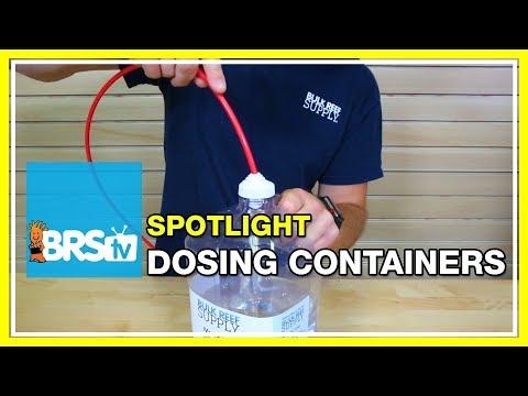 Spotlight on DIY Dosing Containers   BRStv