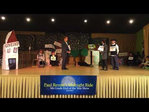 2015 Ben Gamla Palm Beach  5th Grade Paul Revere's Ride