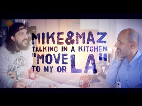 "Maz Jobrani - Standup Comedy Advice: ""Move to LA or NY"""