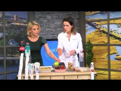 Dr. AnaMaria Temple as seen on Fox24 Charleston Kids Nutrition
