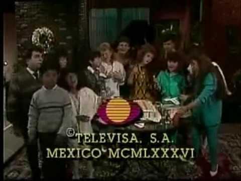 Elenco original de CHIQUILLADAS canta