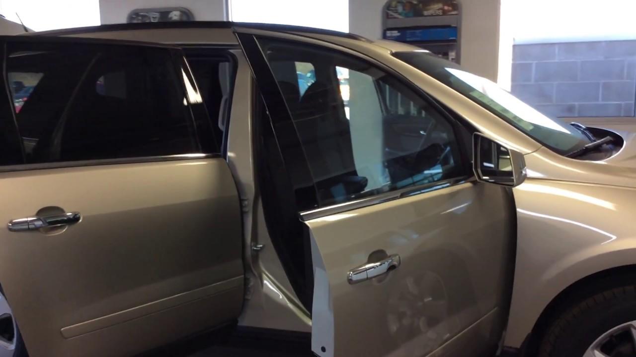2017 Chevrolet Traverse Lt Awd Champagne Silver Metallic