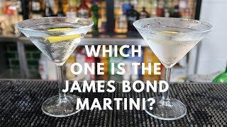 james Bond Martini Shaken not Stirred