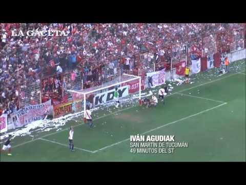 San Martín 2 -1 Guarani. (Relato Juan José Arrieta LV12) Gol de Agudiak y final de partido