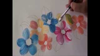 Fabric painting Tutorial 2