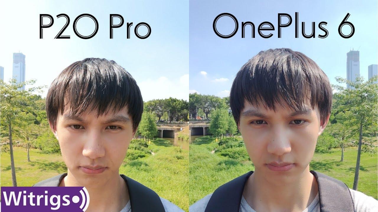 OnePlus 6 VS Huawei P20 Pro - Camera Review
