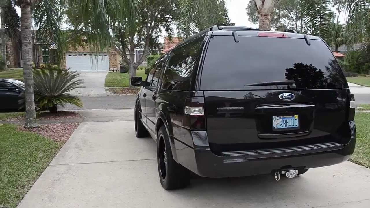 Bad Ass Ford Expedition Kind Ranch Edition Blacked Out Youtube