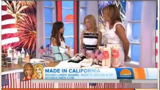 The TODAY Show - July 3, 2014 - Rough Linen - Made in California