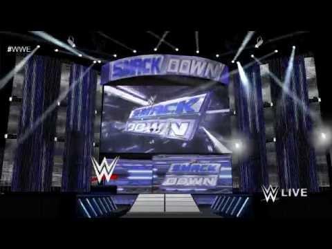 WWE Friday Night Smackdown 2014 Opening Pyro Animation