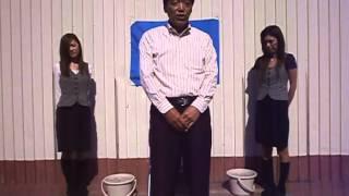 北海道クラウン 代表取締役 早川社長が「アイスバケツチャレンジ」に挑戦.
