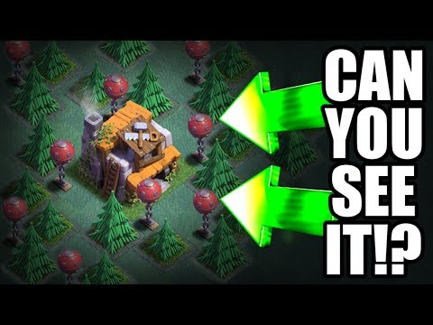 "Thumbnail: HIDDEN BUILDERS HALL! ""IT'S A TRAP"" - Clash Of Clans BUILDERS BASE TROLLING!"