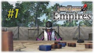 Samurai Warriors 4 Empires [PS4] | Conquest Mode! #1