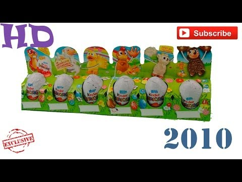 Киндер сюрприз Крутые игрушки с длинными руками 2010 коллекция