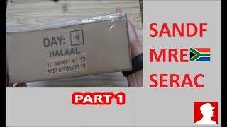 South African Ration Review: SANDF 24H MRE Menu 4 Part 1 of 2