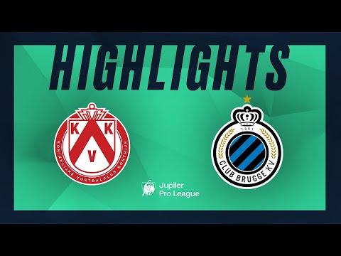 KV Kortrijk - Club Brugge hoogtepunten