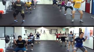 CrossFit HGST Singapore - Sally Up Sally Down