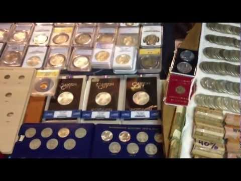 Amazing Coin Collection!  Tons of Silver and Rare Coins!