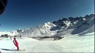 Andorra F7. Горные лыжи Грандвалира декабрь 2013г.(Неделя катания в Пиренеях на горнолыжном курорте Грандвалира, княжества Андорра., 2015-03-25T07:18:31.000Z)