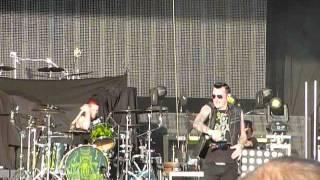 "Hinder ""Up All Night"" Rock Fest, Cadott, WI 7/18/15 live concert"