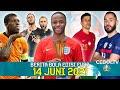 Inggris 1-0 Kroasia, Austria 3-1 Makedonia Utara, Belanda 3-2 Ukraina 🔵 Benzema Siap Bela Prancis