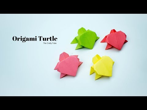 Origami Turtle - How To Make Origami Turtle - Origami Turtle making - Paper Craft - DIY
