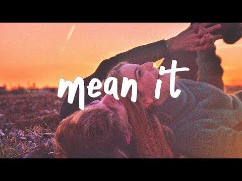 Lauv & LANY - Mean It (Lyric Video) Miro Remix