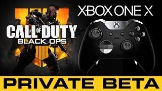 COD Black Ops 4 Xbox One X Console // Private Beta // Bo4 Live Stream Gameplay