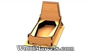 Build Your Own Wooden Halloween Serving Tray (hd)!