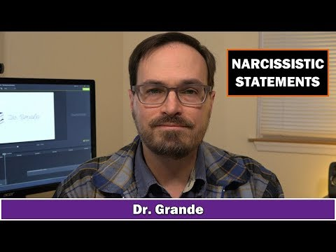 10 Things that Narcissists Say | Narcissistic Statements and Corresponding Thoughts