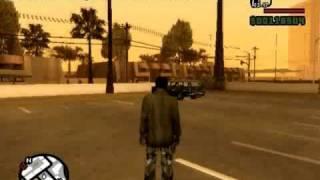 GTA San Andreas Weapons Cheat