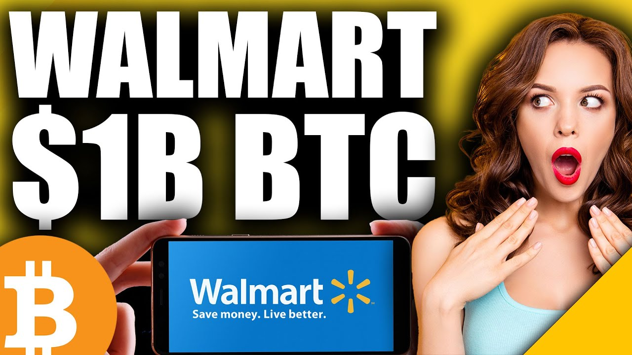 GREATEST Bitcoin News Yet (Walmart To Announce $1B BTC Buy in May)