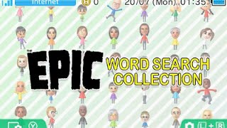 [eShop EU] Epic Word Search Collection - First Look