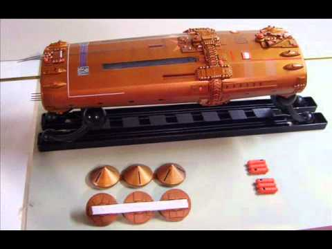 how to build a model spaceship from scratch