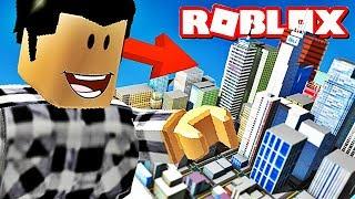 J'AI MANGÉ UNE VILLE ! | Roblox
