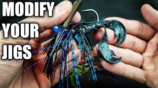 5 Jig Modifications to Help Beginners (Bass Fishing Tips)