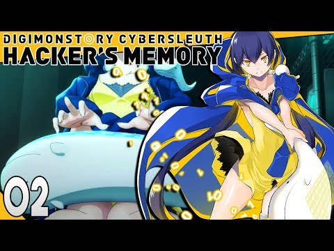 Digimon Story Cyber Sleuth Hackers Memory Part 2 EDEN MALWARE! PS4 Gameplay Walkthrough