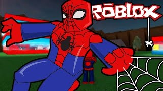 Roblox / Super Hero Spiderman in Real Life Roblox Style / Super Hero Tycoon / Gamer Chad Plays