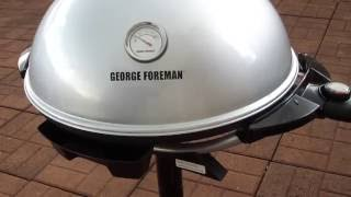 Cleaning George Foreman 15 Serving Indoor/Outdoor Gril