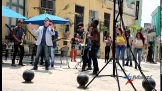 El famoso músico cubano Rey Ruíz graba en la Habana video musical