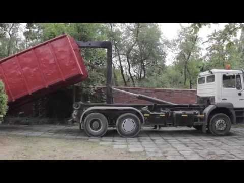 Вывоз строительного мусора в Минске и районе. Аренда контейнеров-накопителей от Bunkera.BY
