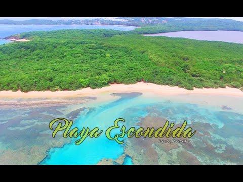 Playa Escondida, Fajardo Puerto Rico