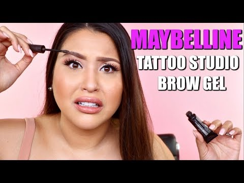 MAYBELLINE TATTOO BROW GEL: 2 DAY BROWS?!