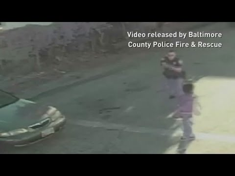 GRAPHIC VIDEO: Baltimore Police release footage of officer fatally shooting unarmed teenager