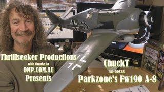 Parkzone Focke Wolf 190 A8 ChuckT Un-boxing/Review